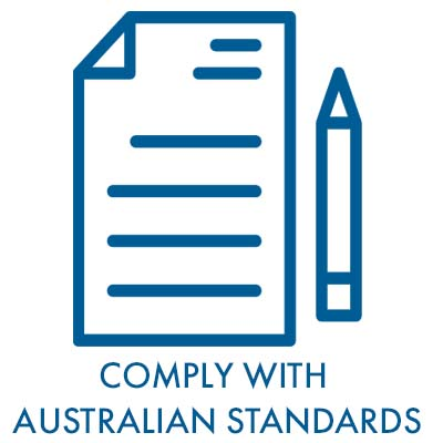 comply with australian standards